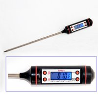 barbeque foods - LONN New Backlight LCD Instant Digital Kitchen Food BBQ Barbeque Meat Thermometer with Stainless Steel Food Temperature Sensor Meter