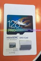 Wholesale Pro GB Class10 UHS MicroSDXC Memory SD TF Card High Speed MB s Memory Card with SD Adapter for Mobile Phones Car Video