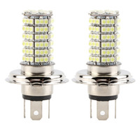 Wholesale 2 H4 DC12V LED SMD High Low Beam LED Fog Light Headlight Lamp White hot selling