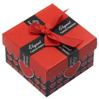 Wholesale Love Heart Watch Box a Fashion Jewelry Luxury Gift Box Jewelry Box Carton Packaging Gifts For Women