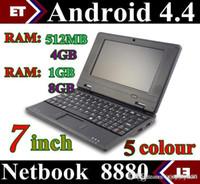 Wholesale laptop inch Dual Core Slim Mini Laptop LCD Laptop PC Android VIA Cortex A9 GHZ HDMI WIFI GB GB GB Mini Netbook SW1