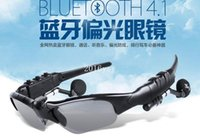Wholesale Newest Fashion Sports Stereo Sunglass Wireless Bluetooth Headset Headphone For All Mobile Phone