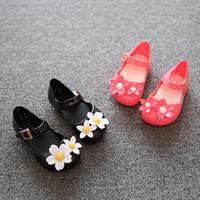 Wholesale Children Sandals New Summer Kids Girls Sandalias menina Mini Sed Cute Flower Scented Rubber Toddler Girl Jelly Shoes