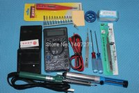 Wholesale Soldering Tool kits Soldering Irons DT832 multimeter Desoldering Rosin Tin
