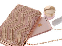 Wholesale 2016 new arrival unique sequins Evening bag Clutch Purse Party Wedding bags honestgirl09