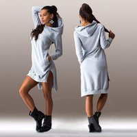 best women s sweaters - Best Sellers Fashion Irregular Even Hat Sport Suit Women Long Sleeve Dress Sweater Sweatshirts Couple Hoodies Print Cotton