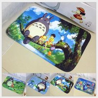 Wholesale Chinchilla Aberdeen printing mat cartoon slip carpet mats doormat
