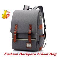 art middle school - Canvas Backpack School Bag cm cm wind Tide Middle School Backpack Korean Leisure Travel Colors Out088 DHL