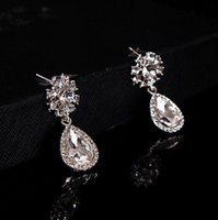 beautiful inexpensive weddings - Wedding Bridal Ear drill Cheap Sparked Bling Shiny Beautiful Inexpensive Good Sell Modest Style Rhinestone Charming High Quality Best