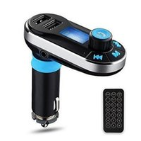 Wholesale Hands fre FM Transmitter Bluetooth MP3 Player Car Kit Charger Support SD Card USB for iPod iPhone S C iPad Samsung Galaxy