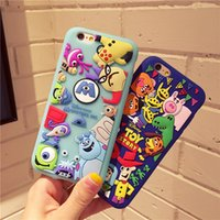 apple stories - Newest iPhone Plus Cute Cartoon Monster University Cases Toy Story Silicone Soft Cover Case for iPhone S Plus