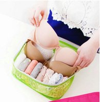 Wholesale Cosmetic Bags Style Storage Travel Portable Underwear Cases Bra Organizer New