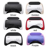 Wholesale Professional Nail Dryer W CCFL UV LED Lampe Nail Dryer for Nail Gel Polish Nail Art Tool V