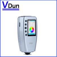 Wholesale via DHL High precision Digital Colorimeter Color Difference Meter Tester WR CIELAB mm D65