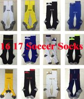 ac multi - Benwon new soccer socks men s Knee High stocking AC Milan Thicken Towel Bottom long hoses Madrid sport socks Chelsea football socks