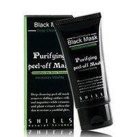 Wholesale Face Care Deep Peel Off Black Head Mud Black Mask Deep Cleansing Blackhead And Pimple Remover Face Mask Blackheads Nose Strips
