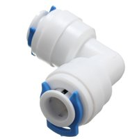 Wholesale 10PCS Elbow quot quick connect for inch pipe fitting of RO machine refrigerator water purifier