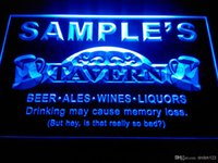 beer names - DZ025 b Name Personalized Custom Tavern Man Cave Bar Beer Neon Light Sign