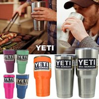 beer for christmas - 12 Colors Yeti Rambler Beer Cup oz oz Yeti Coffee Tea Cups Tumbler Stainless Steel Vacuum Insulated Travel Mug For Christmas