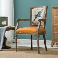 antique european chairs - European American Retro minimalist Dining Chairs Chairs Chairs neoclassical gantry