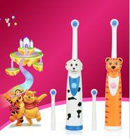 Wholesale Kids electric toothbrush Children Electric massage Ultrasonic Toothbrush teeth Care kids Oral Hygiene Dental Care KKA431