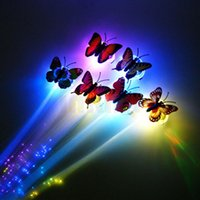 assorted wigs - Butterfly LED Hair Braid Light Up Flashing Fiber Optic Barrette Hair Assorted for Party Christmas Event Party Supplies Party Decoration