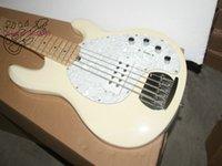 Wholesale Bass Guitar Custom strings cream Electric Bass Guitar