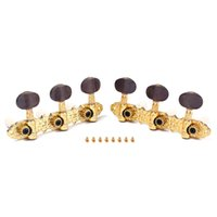 Wholesale Classical Guitar Tuners Tuning Key Pegs Machine Heads for Classical or Flamenco Guitar with Gold