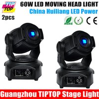 Wholesale Hot Selling W Led Moving Head Light CH DMX512 Led Moving Head Spot Light USA Luminous FOCUS Facet Gobo Light V V