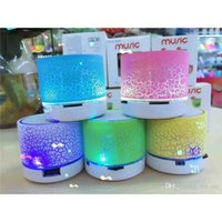 Cheap Mini Bluetooth Speakers LED Colored Flash A9 Handsfree Wireless Stereo Speaker FM Radio TF Card USB For iPhone 6 7 6S Samsung S6