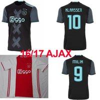ajax shipping - 2016 Ajax amsterdam Jersey Ajax Home Away shirt Top Thailand Quality HEITINGA MILIK KLAASSEN SCHONE EL GHAZI Jersey FREE SHIP
