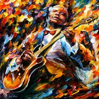bb buy - Buy Christmas gift bb king Leonid Afremov s oil painting reproduction hand painted