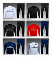 Wholesale 16 psg training suit PSG tracksuits DI MARIA IBRAHIMOVIC DAVID LUIZ tight pants PSG sportswear SOCCER tracksuit