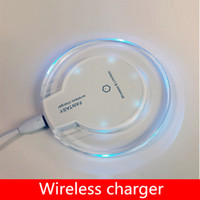 android common - 2016 Low price High quality Qi standard creative android mobile wireless charger round apple common mobile wireless charger