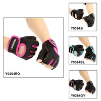 Wholesale Gym Wrist Wrap Men Women Sports Fitness Exercise Training Half Finger Gloves Multifunction Sweat Absorption Friction Resistance