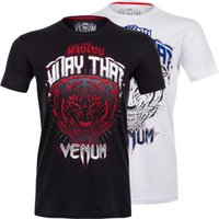 bad boy clothes - New Arrival Men s MMA Fight Muay Thai boxing sweat shirt short sleeved shirt bad boy short muaythai clothing for boxing