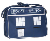 bags doctor - Doctor Dr Who Tardis Police Box PU Messager Shoulder Bag With Tag