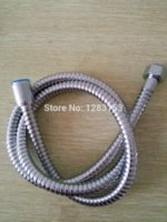 bath tube faucet - 1 m plated chrome SHOWER CABLE PIPE HOSE BATHROOM HOOSE BATH HEAD HOSSE TUBE STANDARD Cheap pipe seamless