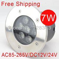 Wholesale w AC85 V High Power LED Underground Light Waterproof IP65 Outdoor led Underground Lamp