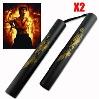 martial arts weapons - Dragon Chinese kung fu martial arts artes marciais wing chun foam nunchakus Nunchucks selfdefence weapons wushu equipment