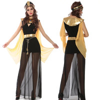 apron material - After new Halloween costume Women role playing Cleopatra mesh material that contains the product headdress aprons clothes Belt