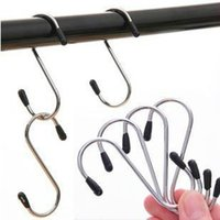 Wholesale Universal stainless steel S type hook multi function portable small metal S hook hook G