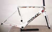 bicycles made in china - Design of White styles carbon bike frames Made in China Good quality Bike carbon frameset RIDLEY road bicycle carbon frameset