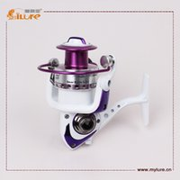 Wholesale Ilure Reels Gear Ratio Ball Bearings Plastic Spinning Fishing Reel drop shipping
