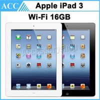 Wholesale Refurbished Original Apple iPad rd Generation GB WIFI inch IOS A5X Warranty Included Black And White DHL