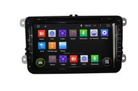 Wholesale 2 Din Inch Core HD WIFI DAB GB in Dash DVD Android GPS Car Multimedia Player for VW Passat