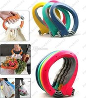 Wholesale Fashion Hot Soft One Trip Grip Handle Shopping Bag carry device Convenience locks bags