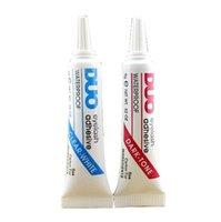 Wholesale Piece New DUO Eyelash Glue White Black Clear Adhesive False Eyelash Glue For Professional Waterproof
