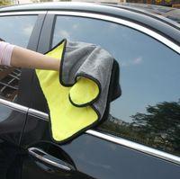 Wholesale 100 super high quality gsm cmx38cm Super Thick Plush Microfiber Cloth Car Care Wax Polishing