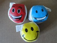 assorted beans - Assorted Colors Footbag Smile Face Hacky Sack Bean Bag For Sports Kids Toy cm dia